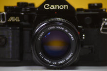 Load image into Gallery viewer, Canon A-1 Vintage 35 Film Camera With 50mm F/1.4 Prime Lens