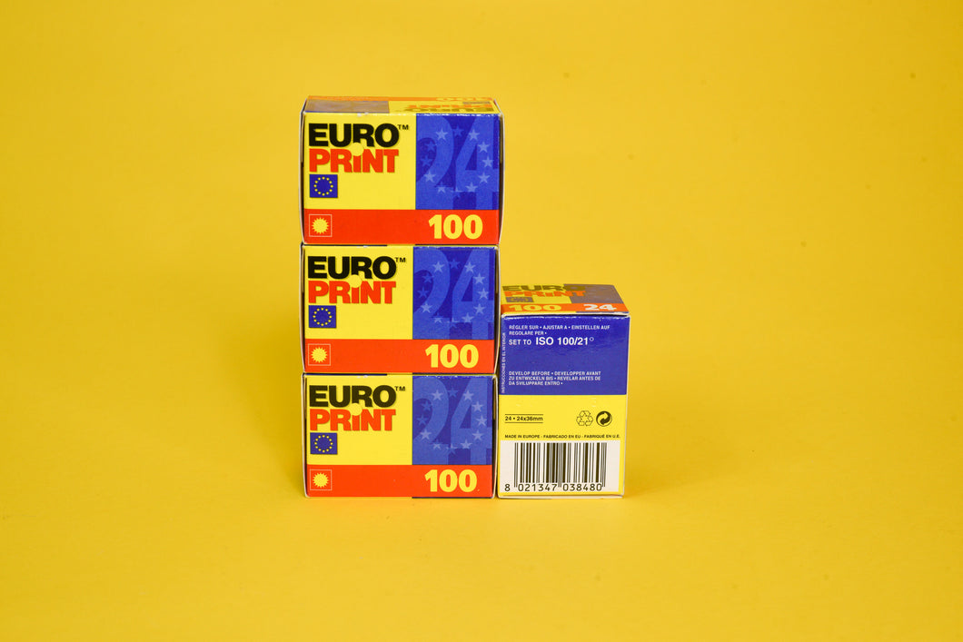 Ferrania Europrint 100 35mm Colour Film Camera Expired