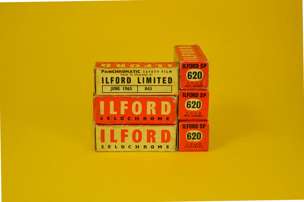 Ilford Selochrome 620 Film Expired