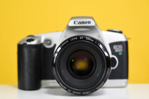 Canon EOS 500N 35mm Film Camera with Canon 50mm f/1.8 Prime Lens