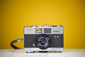 Rollei 35B Film Camera with Leather Case