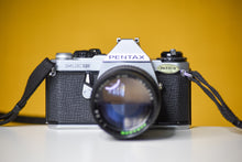 Load image into Gallery viewer, Pentax ME Super Vintage 35mm Film Camera with Paragon 135mm f2.8 Lens And Strap