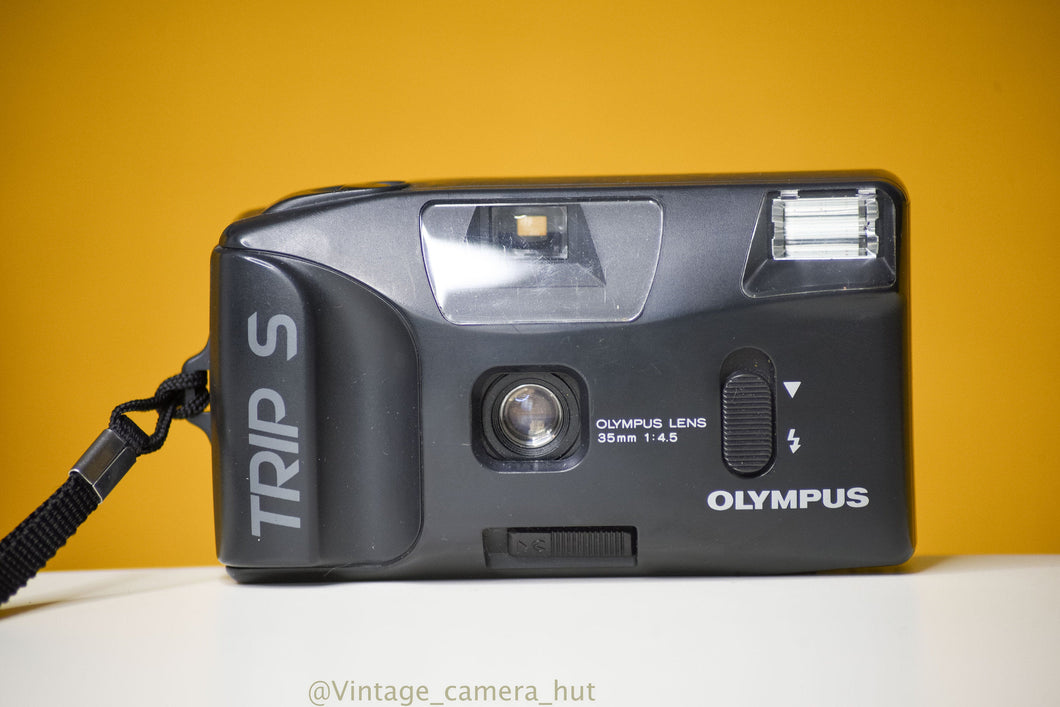 Olympus Trip S Vintage 35mm Camera Point and Shoot