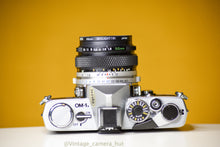 Load image into Gallery viewer, Olympus OM1n MD 35mm Film Camera with Zuiko 50mm f/1.8 Prime Lens