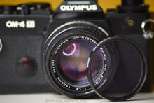 Load image into Gallery viewer, Olympus OM4ti 35mm Film Camera with Zuiko 50mm f1.4 Prime Lens Great Condition