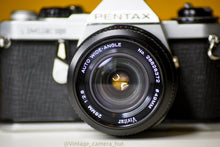 Load image into Gallery viewer, Pentax ME Super Vintage 35mm Film Camera with Vivitar 28mm f/2.8 Lens