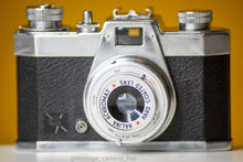 Load image into Gallery viewer, Halina Pet 35mm Film Camera with Leather Case