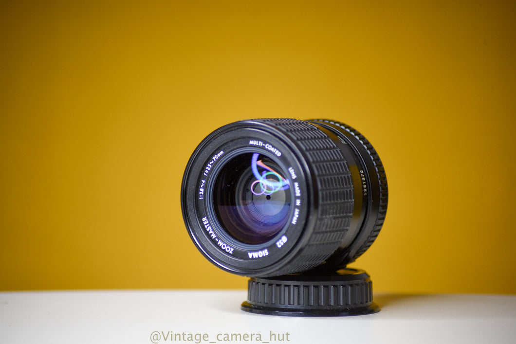 Sigma Zoom Master 35-70mm f/2.8 Lens for Pentax K Mount