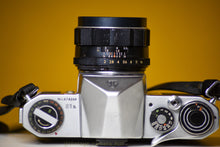 Load image into Gallery viewer, Pentax S1a 35mm Film Camera with Super Takumar 55mm f/2 with Lens Filter and Strap