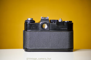 Zenit ET Russian Vintage 35mm Film Camera with Helios 44-2 58mm f/2 with Leather Case