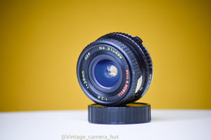 Bell&Howell 28mm f/2.8 lens OM Mount for Olympus