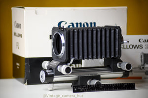 Canon FL Bellows Boxed In Mint Condition Never Used