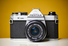 Load image into Gallery viewer, Pentax K1000 35mm Film Camera with SMC Pentax M 28mm f/2.8 Prime Lens