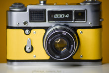 Load image into Gallery viewer, FED 4 Russian 35mm Vintage 35mm Film Camera (Coupled Rangefinder) & 53mm f/2.8 Lens
