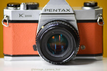 Load image into Gallery viewer, Pentax K1000 35mm Film Camera with SMC-M 50mm f/1.7 Prime Lens
