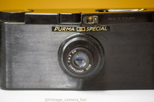 Purma Special 127 Film Camera with Leather Case and Lens Cap
