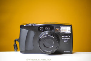 Yashica Microtec Zoom 120 Kyocera 35mm Film Camera