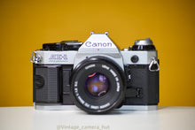Load image into Gallery viewer, Canon AE-1 Program 35mm Film Camera with Canon FD 50mm f/1.8 Lens