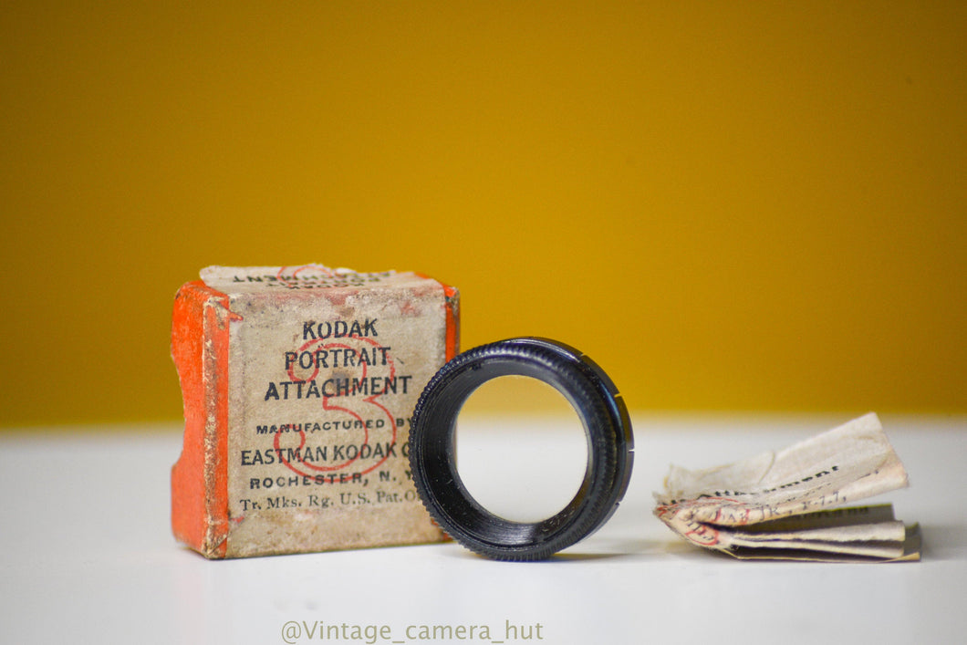 Kodak Portrait Attachement No 3 with Box and Manual