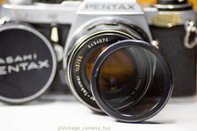 Load image into Gallery viewer, Pentax ME Super Vintage 35mm Film Camera with Super Takumar 55mm f/2 Lens Converted to M42 Mount