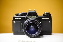 Load image into Gallery viewer, Praktica B100 35mm Film Camera with Sigma Zoom Master 35-70mm f/3.5 Lens
