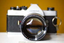 Load image into Gallery viewer, Cosina SL 35mm Film Camera with 135mm f/2.8 Lens