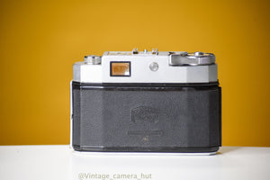 Zeiss Ikon Contina III 35mm Film Camera with Leather Case