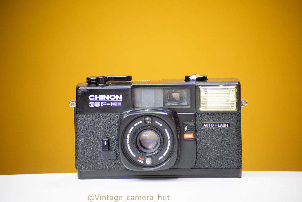 Chinon 35F-EE 35mm Film Camera