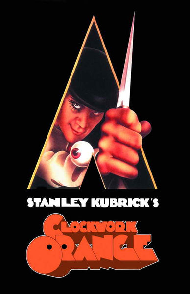 Clockwork Orange 27x40 Movie Poster Print