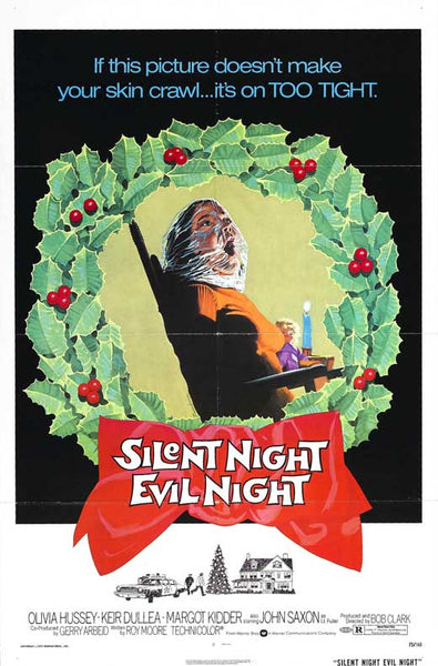 Silent Night Evil Night (1974) 27x40 Movie Poster Print