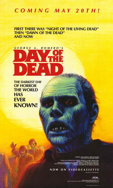 Day of the Dead 27x40 Movie Poster Print