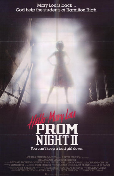 Prom Night II (1987) 27x40 Movie Poster Print