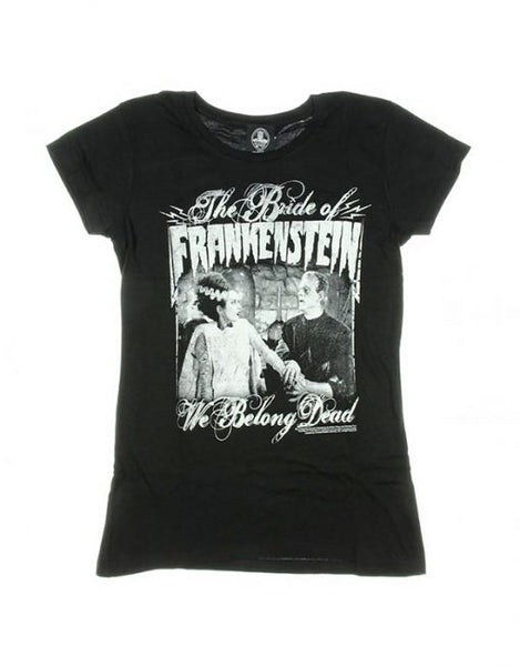 Bride of Frankenstein Women's Fitted T-Shirt (XL Only)