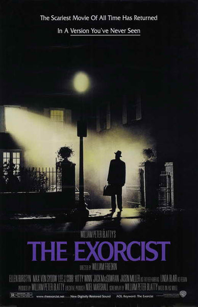 The Exorcist 27x40 Movie Poster Print