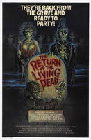 The Return of the Living Dead 27x40 Movie Poster Print