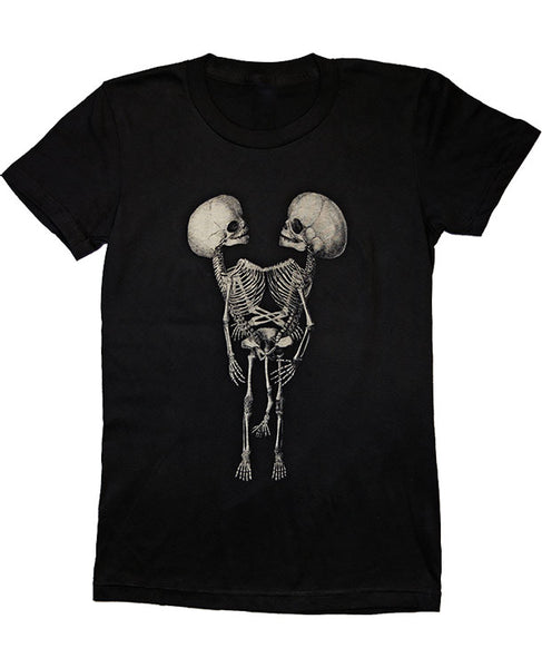 Conjoined Twins Women's Fitted T-Shirt (Small only)