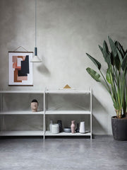 ferm LIVING Punctual Shelving System Grey 2x3