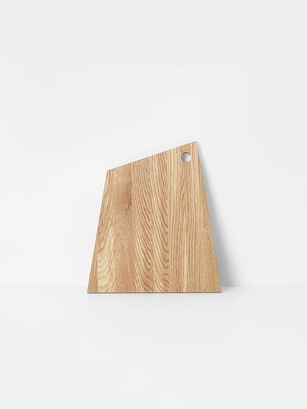 ferm LIVING Asymmetric Cutting Board - Oiled - Large