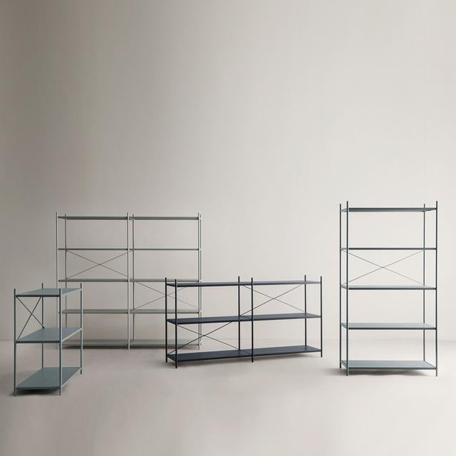 ferm LIVING Punctual Shelving System Rose 2x5