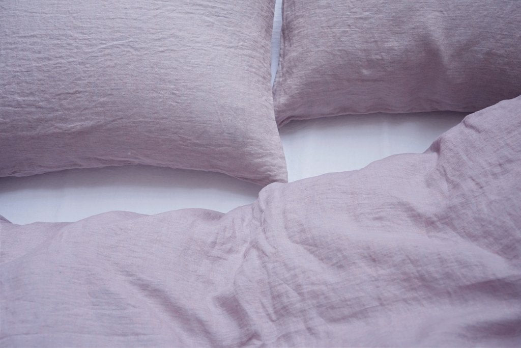 Area Bedding CAMILLE Lilac Twin Duvet Cover