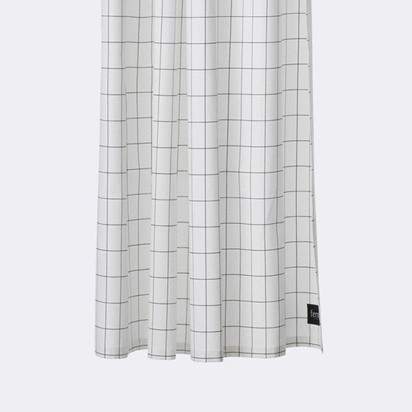 ferm LIVING - Grid Shower Curtain