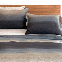 Area Bedding Iní©s Grey Standard Cases (Pair)