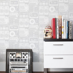 Aimee Wilder Wallpaper Analog Night Heather