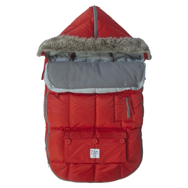 7 A.M. - Le Sac Igloo 500 Small (0-6 M) Red