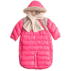 7 A.M. - Doudoune 100 Small (0-3 M) Neon Pink / Beige