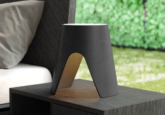 Modloft Abbey Lamp Black on desk