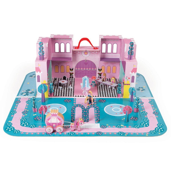 Janod - Princess Palace Carrying Case