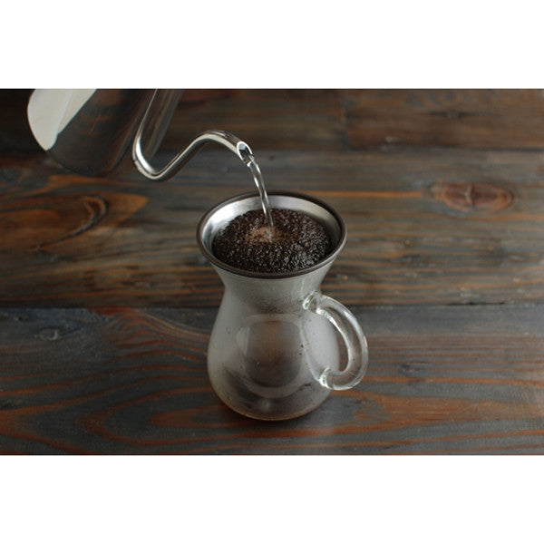 Kinto Slow Coffee, Stainless Filter 2 Cups
