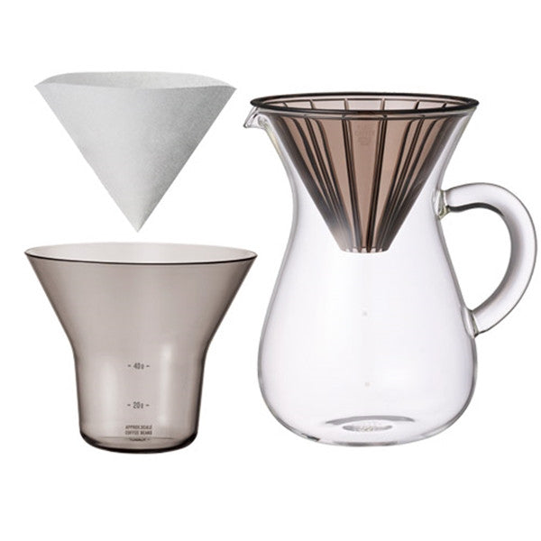 Kinto - Slow Coffee, Carafe Set 600ml Plastic