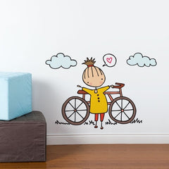 ADzif Wall Sticker A Fine Day For a Ride